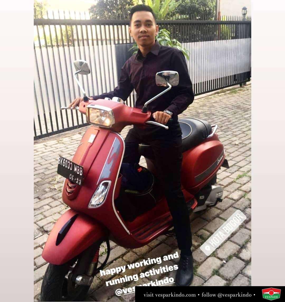 Vespa Medan di Bogor @razmiprabudi