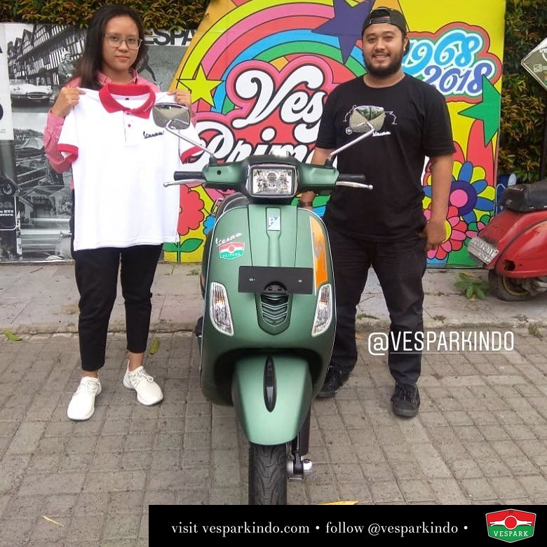 Vespa s 125 mattgreen Welcome to Vespark family masta yaulita @greax