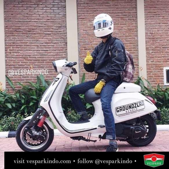 Vespa Sprint custom @dikanugraha_