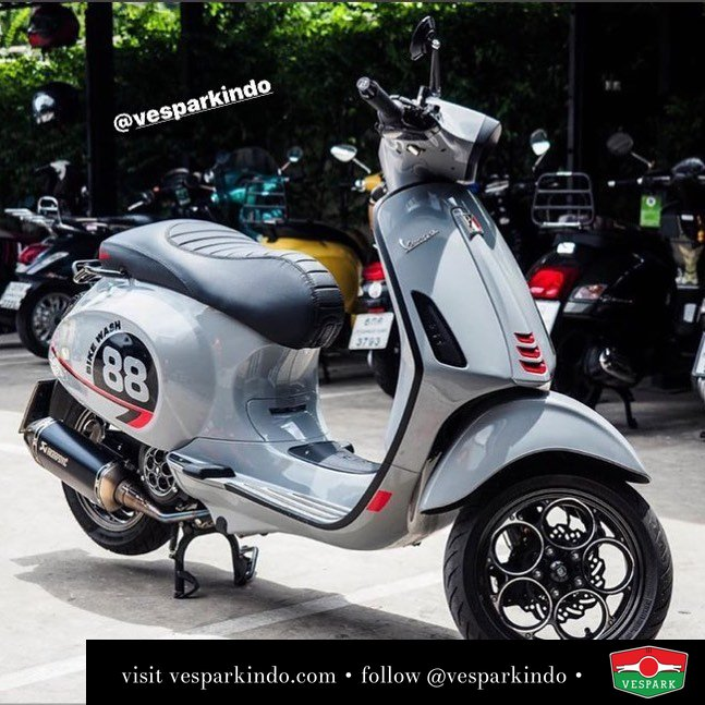 Vespa Sprint S custom modified @sanohmmy88