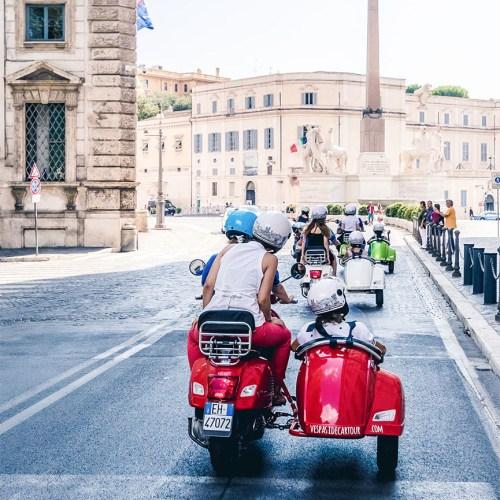 Vespa Sidecar Tour - Quirinale
