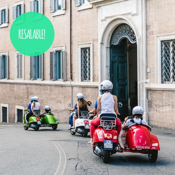 Vespa Sidecar Tour in Rome