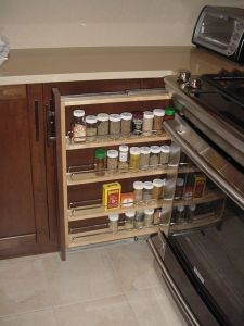 condiment rollout behind a filler