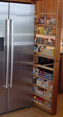 """Pullout pantry 6"""" wide"""