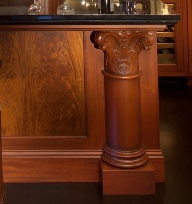 Decorative large post