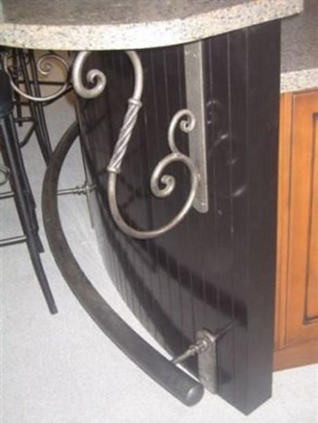 metal dining shelf bracket