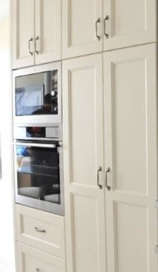 Pantry and wall ovens