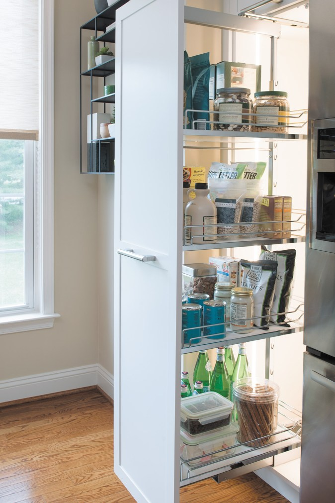 pullout pantry system