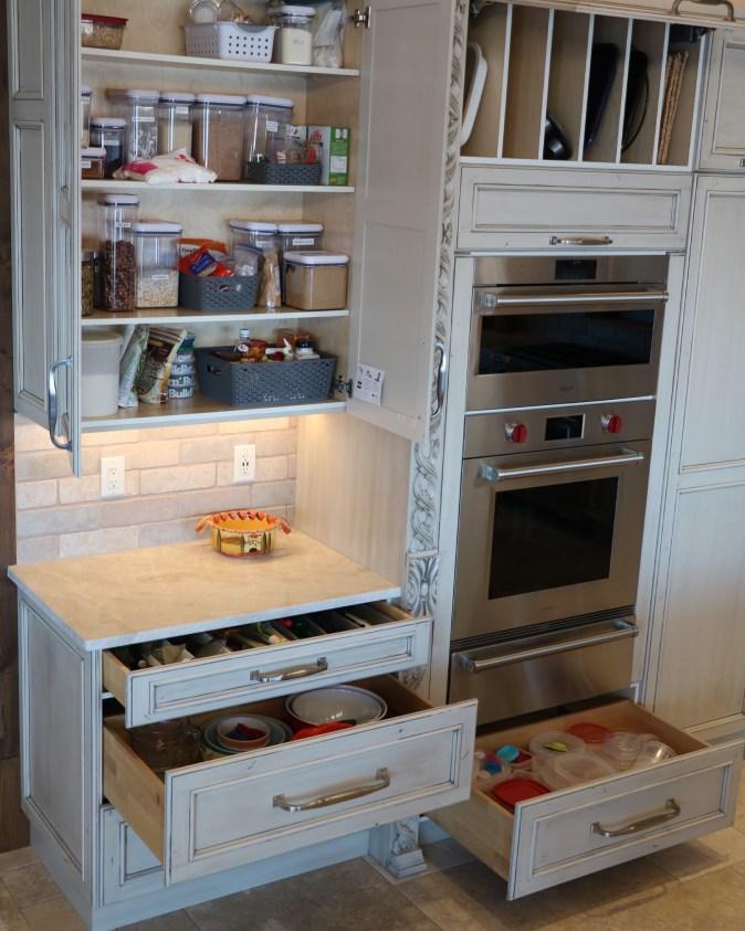 storage in bake center