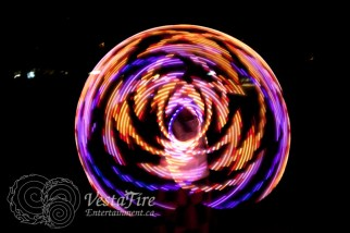 VestaFire LED hoop play 3
