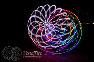 VestaFire LED hoop play 5