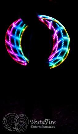 VestaFire LED hoop play 6