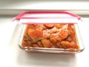 Chicken potato goulash