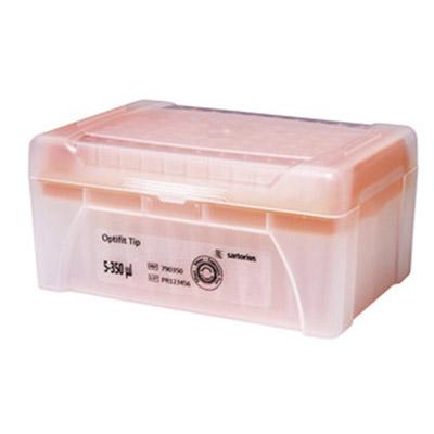 350mkl 790351 - Наконечники 350 мкл для дозаторов Sartorius BIOHIT Optifit, 54 мм, стерильные, в штативе 10х96 шт.