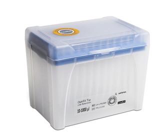1000mkl LH L791000 - Наконечники 1000 мкл для дозаторов Sartorius BIOHIT Low Retention Optifit, 71.5 мм, в штативе 10х96 шт.