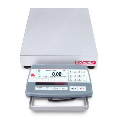 OHAUS D52P 305 355 mm 1 - Платформенные весы OHAUS D52P15RQDR5