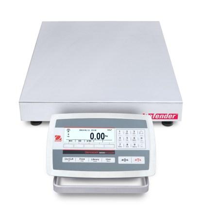 OHAUS D52XW 400 500 mm 1 - Платформенные весы OHAUS D52XW150WTDL5