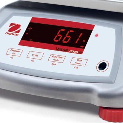 OHAUS V22XWE 1 - Влагозащищённые порционные весы OHAUS V22XWE6T