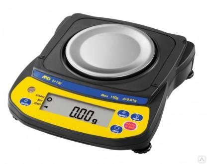 EJ 120 200 300 610 410 - Лабораторные весы AND EJ-120