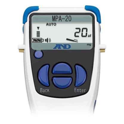 MPA20 3 - Дозатор электронный 1-канальный AND MPA-20, 2-20 мкл