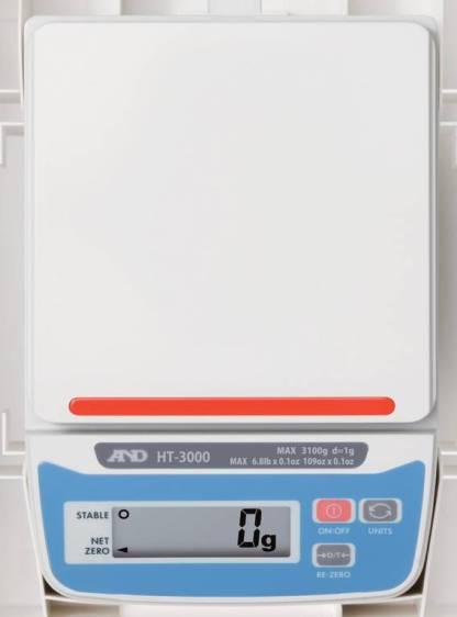 ht 3000 5000 3 - Лабораторные весы AND HT-3000