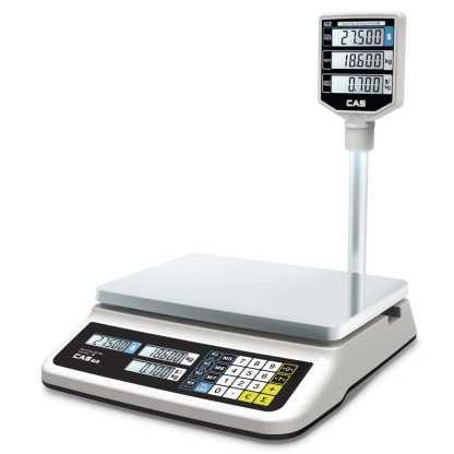 cas pr ii p - Торговые весы CAS PR-15P(LCD, II)USB