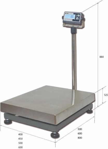 PM1B 3 - Платформенные весы MAS PM1B-100-4050