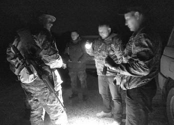 Проведен рейд по выявлению нарушений правил охоты