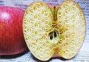 візерунки з фруктів