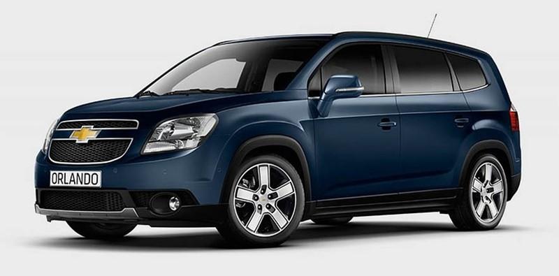 В Узбекистане снимают с конвейера Chevrolet Orlando