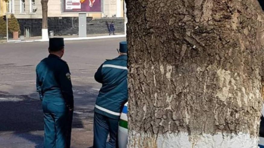 Ташкентским гаишникам запретили «играть в прятки»