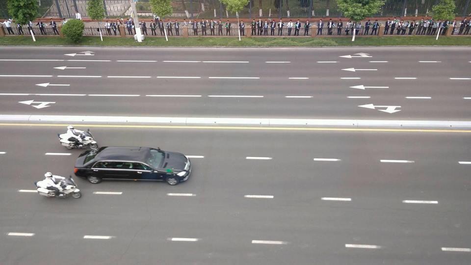 Как Ташкент встречал президента Туркменистана