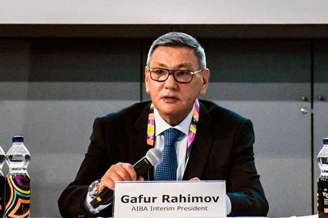 Гафур Рахимов «двинул» в президенты AIBA