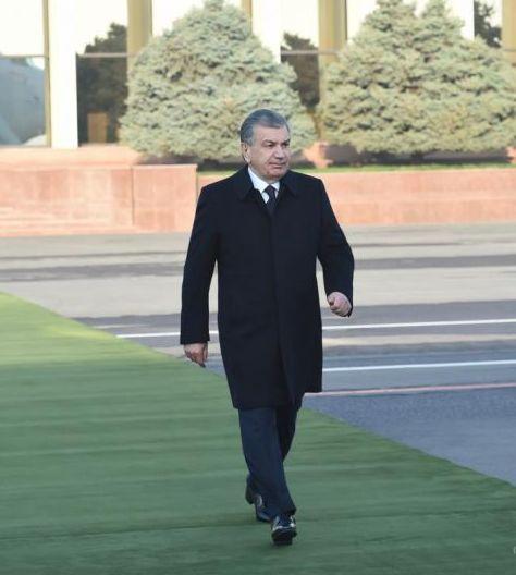 Президент инспектирует Нукус