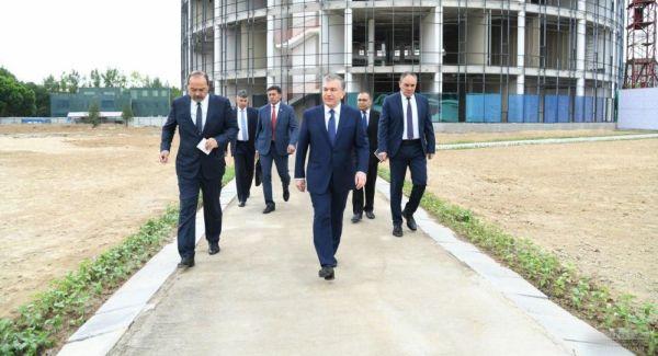 Президент посетил Студенческий городок в Ташкенте
