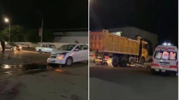Девушка-пешеход и пассажир сбившего ее Lacetti погибли в Ташкенте