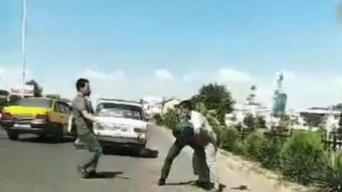 В ответ на многомиллионный штраф избил инспектора ДПС