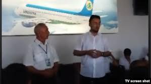 Имамы читают гастарбайтершам проповеди в аэропорту Намангана