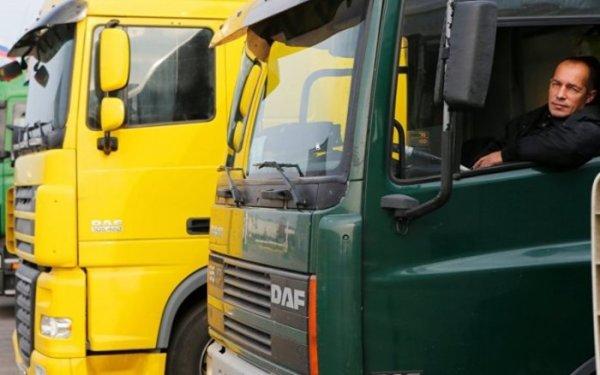 Автопробег грузовиков взял курс на Китай