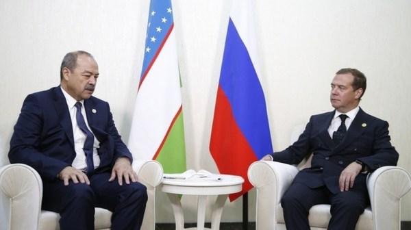 Абдулла Арипов встретился с Дмитрием Медведевым в «Авазе»