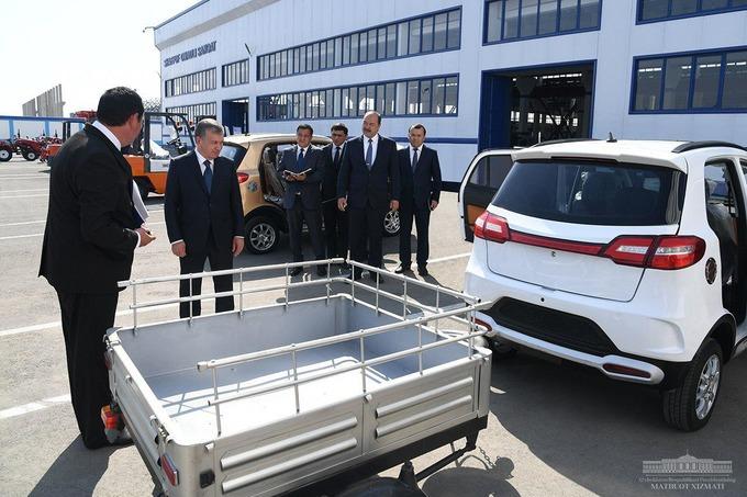 Узбекистан первым в СНГ замахнулся на электромобили