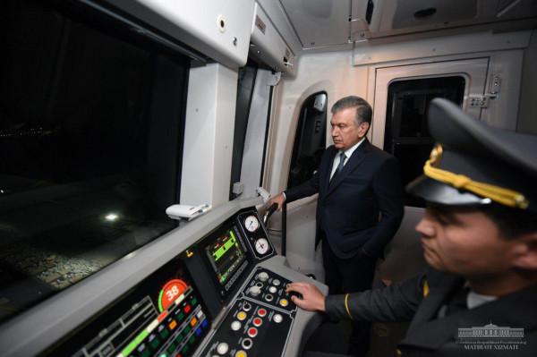 Новая ветка метро прославит юбилей Узбекистана