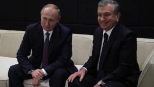 Шавкат Мирзиёев встретился с Владимиром Путиным