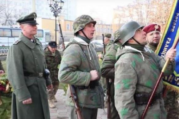 На Украине с почестями похоронили «последнего» эсэсовца