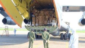 Военные компании КНР передали 20 тонн гуманитарной помощи узбекским коллегам