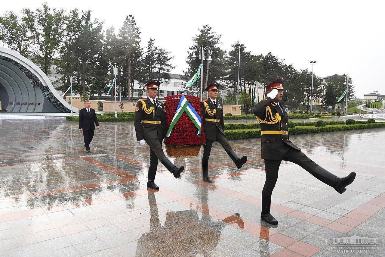 Мирзиеев напомнил о доблести узбеков в Великую Отечественную