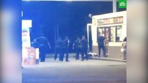 В США полицейские застрелили темнокожего грабителя