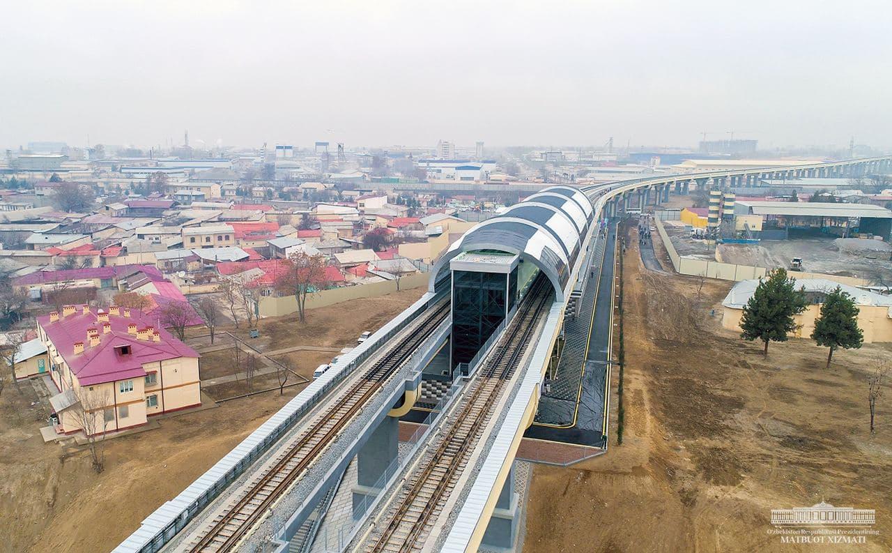 Мирзиеев запустил метро на ташкентскую окраину