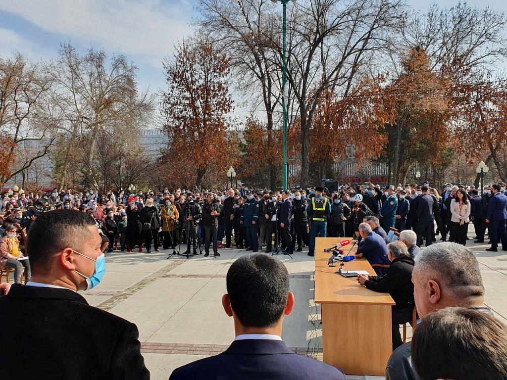 Мэр Ташкента подтвердил строительство стелы Независимости в парке «Голубые купола»