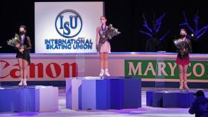 16-летняя россиянка Анна Щербакова выиграла ЧМ-2021 по фигурному катанию